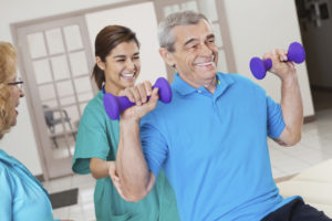 Rehabilitation & Therapy at Park Manor of Westchase nursing home in west Houston, TX.